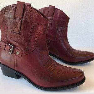 Franco Sarto WACO Women's 7 Red New Cowgirl Boots